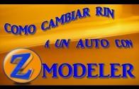 Como cambiar rueda a un auto con Zmodeler Gta sa