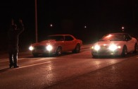 Controversial Street Race – Turbo LS 67 Camaro vs AWD Turbo Talon