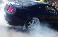Cordell burnout 1 Empire Car Show 2014