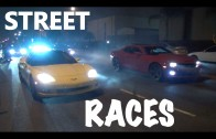 Corvette vs Camaro SS-Street Racing 2014-Compton-Car Meet | Burn outs | Donuts