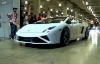CRAZY REVS ENGINE SOUNDS NUROTAG 2014 TUNING CUSTOM MADE CARS LEAVING SHOW