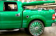 Dallas Dub Show 2k13 – Green Truck & Rims Spinnin