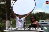 Detras de Cámaras sesión de fotos Car Show Tuning Day 2014