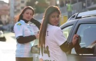 Diva Domani alla partita Entella – Spezia per Giada Auto con il nuovo Dacia Titan