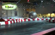 Drift-Show at Motor Show Essen