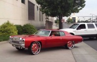 Dub show 2012 roll in Charlotte nc impala 28's monte Carlos