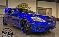 Dub Show Atlanta : Candy S550 on 22″ Forgiatos Staggered Wheels