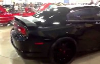 Dub show Miami 2014: Bts customs wide boy charger on 24s