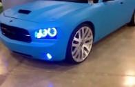 Dub show Miami 2014: tatedesign dodge charger srt8 on forgiato