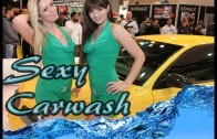 ESSEN Motor Show 2013  Sexy Carwash Sonax (HD) by OTOTÜRK TV