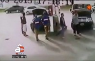 Explosión de auto con GNC en estación de servicio – Arriba Córdoba