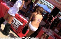 Extreme Auto Fest 2011 – San Diego – Roxy Ayala – Lily Zenna Wang – Hot Sexy CAME Models