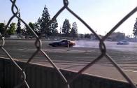 Extreme Autofest 05/11/13 Angels Stadium Drifting #2