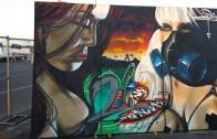 Extreme autoFest 2014 graffiti exhibit