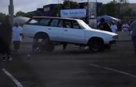 Extreme autofest 2014 San Diego  (Car hopping)