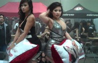 Extreme Autofest Feb 2011 – April & Jane with Intimate Body Pillows #2