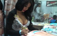 Extreme Autofest Feb 2011 – Jeri Lee & Intimate Body Pillows #2