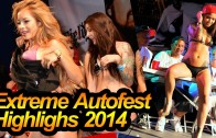 Extreme Autofest Highlighs 2014 w/ Hot Models and Fast Cars
