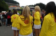 F1 Shell grid girls
