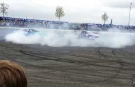 Falken Drift Show | Tuning World Bodensee 2014 Kirsty Kerbs & Matt Carter