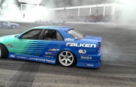 Falken drift show tuning world bodensee 2013 final