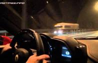 Ferrari 458 Italia vs Audi RS6 Evotech Street Race