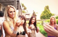 GRIDGIRLS SECRET PROJECT – Girls Down Under – Pool Shoot 2012