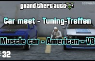 GTA 5 Online car meet #32 / Muscle car – V8 (PS3) / Tuning-Treffen