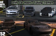 GTA 5 Online Drift car meet #52 (PS3) / Tuning-Treffen
