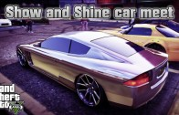 GTA 5 Online Show and Shine car meet #59 (PS3) / Tuning-Treffen