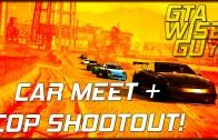 GTA Online | Six Star Street Racers – Car Meet, Vagos and Cop Shootout