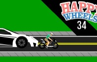 Happy Wheels Part 34 – STREET RACE