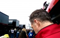 HONDA YUASA grid girls & drivers BTCC Brands Hatch