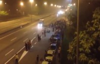 Illegal Street Race In Malaysia End Up WIth Brutal Accident