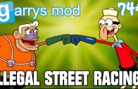 """ILLEGAL STREET RACING!"" Garry's Mod Roleplay #74 Ft. RedSparten"