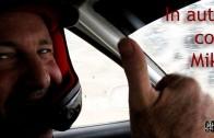 In auto con Miki Biasion
