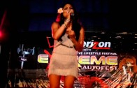 "Jasmine Trias ""Excuses"" Live at Extreme Autofest in San Mateo 8/13/11"