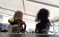 Katy perry Grid Girls BTCC Gemma Newman PowerMaxed Tamworth Oulton Park Racing