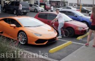 LAMBORGHINI GOLD DIGGER PRANK – 16 YEAR OLD PICKING UP GIRLS