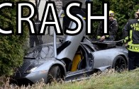 ★ Lamborghini Murcielago STREET RACE CRASH ON HIGHWAY | FAIL ACCIDENT DRIFT aventador sound gallardo
