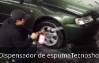 Lavado de Auto con Soap Gun Tecnoshop.