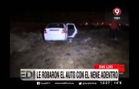 Le robaron el auto con el nene adentro
