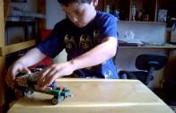 Lego construcción de auto con diferencial