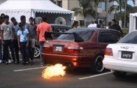 Malelve Tuning Crew – Backfire Demo (Automoto show 2)