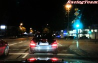 MERCEDES BENZ E 63 AMG 7G TRONIC  funny street race