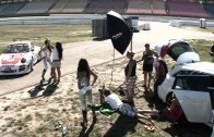 Miss Grid Girl Kalender Shooting 2012 Part 2