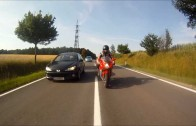 MV Agusta F4 VS GSX-R 1000 highspeed street race