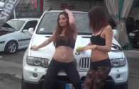 NEW SEXY GIRL :Car Wash Beautiful Hot Girls on BMW – Auto Tuning Show Video