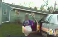 Niño de 8 años condujo auto con hermanitos más pequeños dentro