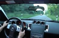 """Nissan 350z – Street Race Onboard """"Green Hell """""""